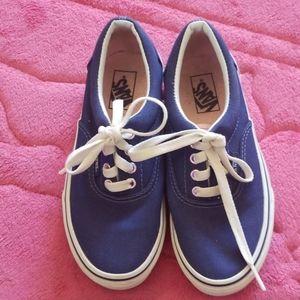 Vans blue sneakers